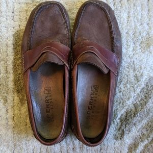 Sperry Top-Sider Men's Chocolate Loafers Size 12M